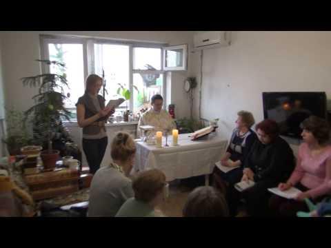 Biełgorod - Psalm podczas Mszy