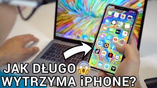 Używałem iPhone'a CAŁY CZAS!  Ile WYTRZYMAŁ?