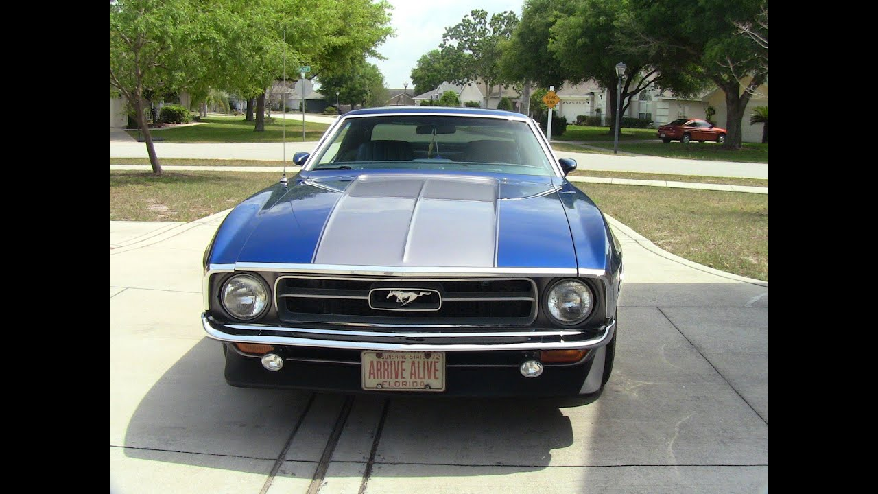 Ford Mustang Grande Coupe 1972