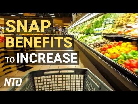 Biden To Raise Food Stamp Benefits; Gold Newsletter: 50 Years Since Gold Standard | NTD Business