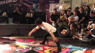 [60fps] Pocket vs Victor Exhibition battle SG Bboy Champ'16