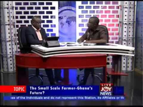 George Osei-Bimpeh speaks on Small Scale Farmers
