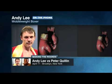 ESPN Making The Round | Andy Lee Interview | Andy Lee Vs Peter Quillin | ESPN Boxing | ESPN