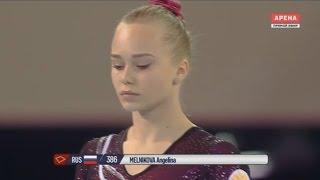 Angelina Melnikova Floor EF - European champion 2017!!!