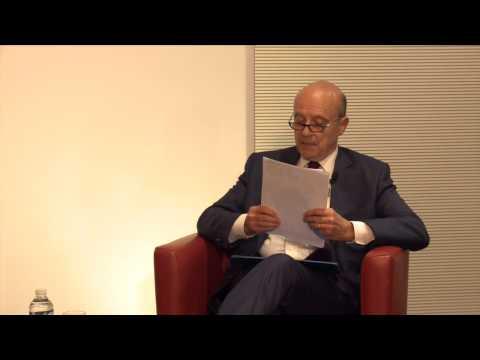 Le Campus Eiffel reçoit Alain Juppé