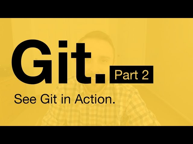 Git Tutorial Part 2: Vocab (Repo, Staging, Commit, Push, Pull)