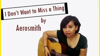 I don't want to miss a thing|Aerosmith (Cover)