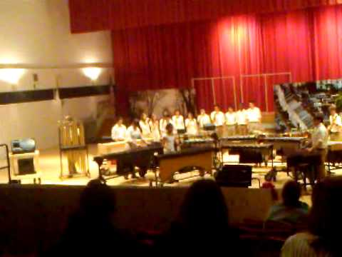 Salem High School Winter Percussion Preview Show 2012