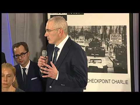 Mikhail Khodorkovsky statement