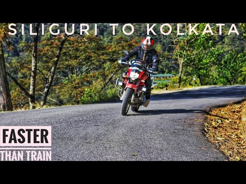 Siliguri To Kolkata In 11 Hours.Super Fast Ride.bv Vlogs.