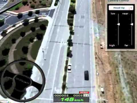 Google Maps 3d Driving Game Youtube