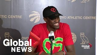 Pascal Siakam says seeing Raptor fans at airport an 'incredible' feeling