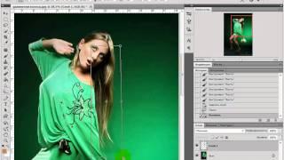 Удлинняем волосы(Видеоурок по Photoshop