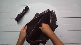 Кожаная сумка Bexhill BX1131C / Royalbag обзор