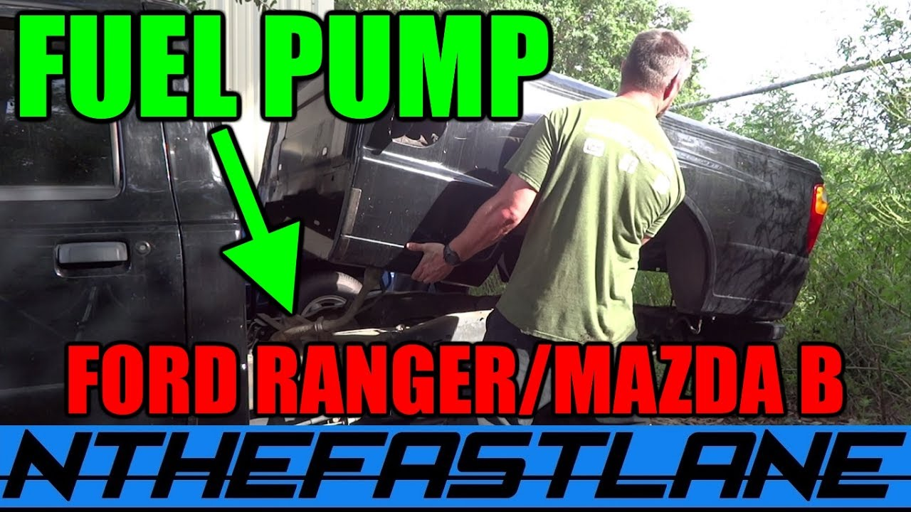 Fuel Pump Replacement Ford Ranger Mazda Bseries 01 03