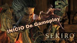Sekiro Shadows Die Twice Gameplay Começando Bem Caindo no Abismo