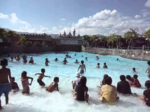 Wave pool at TATIN'S LEISURE AND PARK @ Bayombong Nueva Vizcaya
