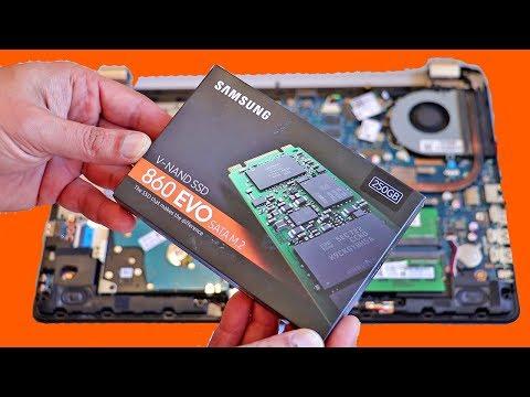 КАК УСКОРИТЬ КОМПЬЮТЕР / Как сделать КОМПЬЮТЕР или НОУТБУК МОЩНЕЕ!!! Установка SSD SAMSUNG 860 EVO