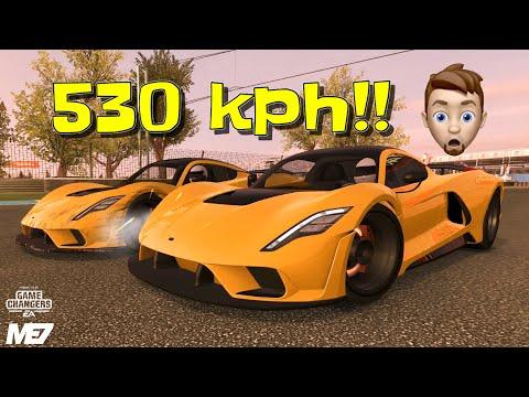Venom F5 SPEED Test – Real Racing 3