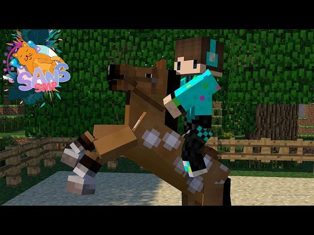 ARENA BALAP KUDA ! Minecraft Survival Sans SMP #15