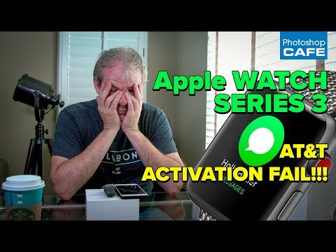 APPPLE WATCH Series 3 UNBOXING + ACTIVATION FAIL