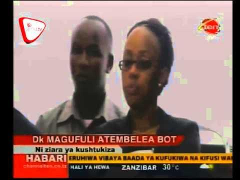 Download Rais Magufuli Afanya Ziara ya Kushitukiza BOT