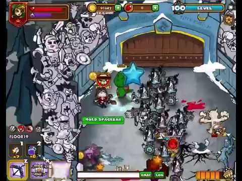 Gameplay PC: Dungeon Rampage (Ultimate Rampage - Frost Guard) Ranger