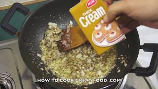 Easy Blue Cheese Cream Pasta Recipe - Macaroni