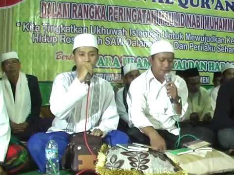 Triwarno Bersholawat Bersama Gus Alif dan Gus Navis Feat AMK Kedungwaru