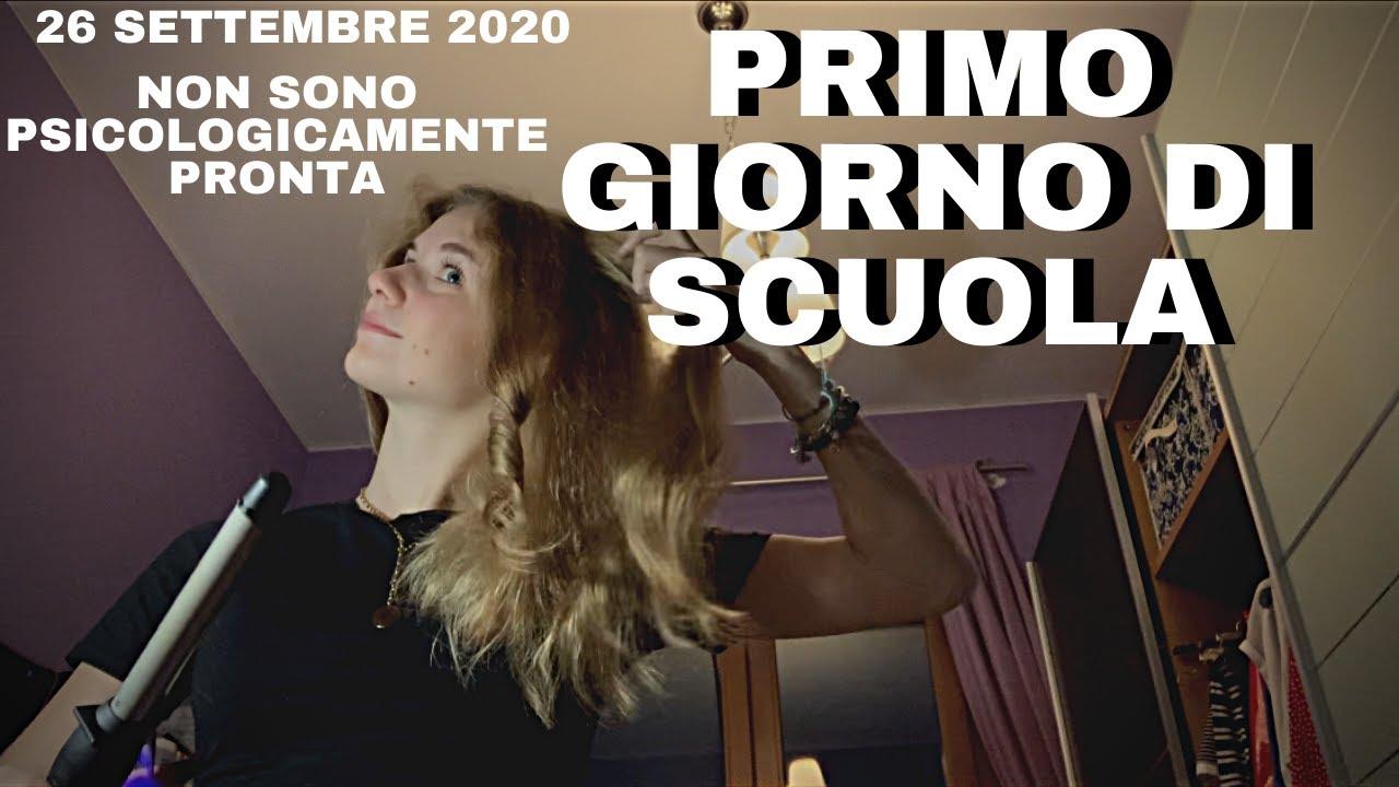 PRIMO GIORNO DI SCUOLA 2020!!!VLOG