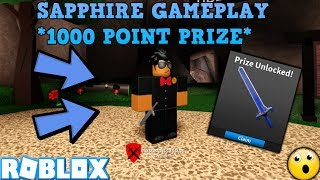 CLAIMING THE SAPPHIRE! (ROBLOX ASSASSIN FEBRUARY COMP 2019) *1000 POINT PRIZE*