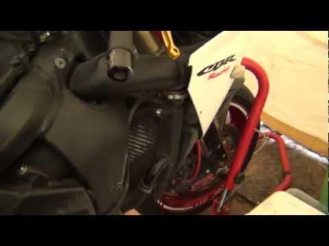 How To Change Coolant On 03 06 Honda Cbr 600rr Youtube
