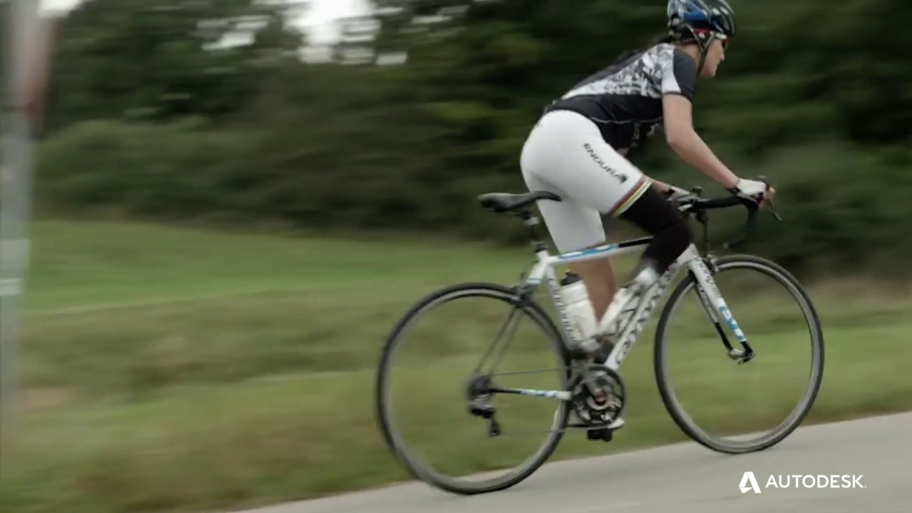 Professional cyclist Denise Schindler partners with Autodesk to create a 3D printed prosthesis