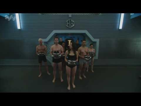 Melissa O'Neil in underwear Dark Matter