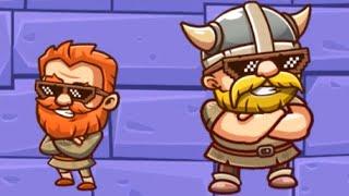 Duo Vikings 2 Full Gameplay 10- Levels