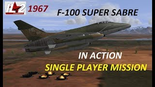 IL2 1946 SUPER SABRE IN ACTION single player game video