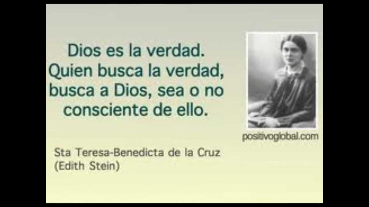 Frases En Imagenes Frases De Santa Teresa Benedicta De La