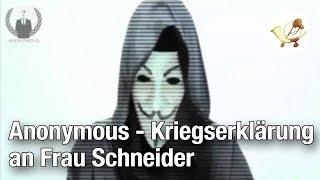 Anonymous – Kriegserklärung an Frau Schneider