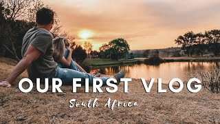 OUR FIRST VLOG | A DAY OUT IN SOUTH AFRICA | VLOG #001