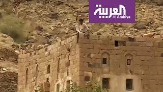 جولة لكاميرا #العربية في قرية النعيمات بمديرية نهم في #صنعاء