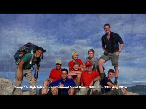 T16 Philmont Scout Ranch   Summer 2016
