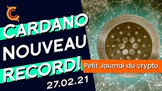 PJC: 🚀CARDANO NOUVEAU RECORD 1.48$💥! EST-CE PARTI TO THE MOON🌑? 🛑ATTENTION A LA CORRECTION📉!