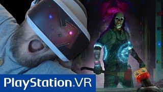 Mój Pierwszy Raz Na VR  w/ GuGa, Tomek90  || PlayStation 4 VR