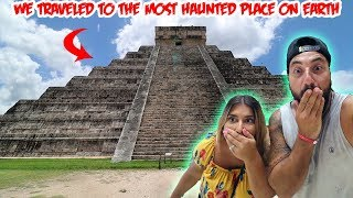 WE TRAVELED TO THE MOST HAUNTED PYRAMID ON EARTH | THE SARGI FAMILY