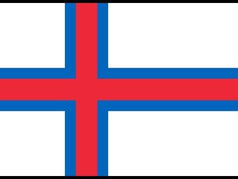 Флаг Фарерских островов.