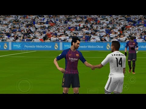 PES 2019 PSP (PPSSPP / iOS / ANDROID) Real Madrid vs