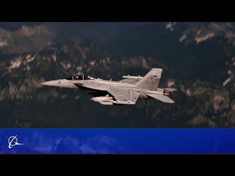 Boeing's Growler: Radar Jamming Attack Fighter Based on F/A-18 Super Hornet