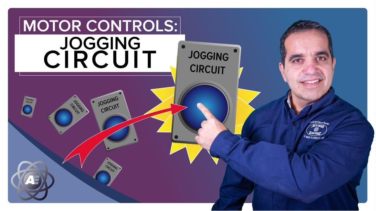 Basic Motor Control  Jogging Circuit