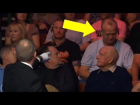 Drunk Audience Member gets kicked out...
