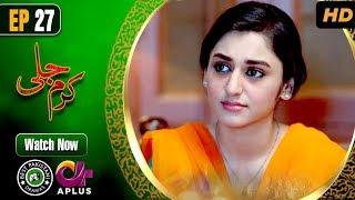 Pakistani Drama | Karam Jali - Episode 27 | Aplus Dramas | Daniya, Humayun Ashraf